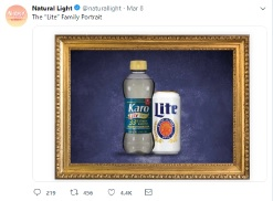 MillerCoors v Anheuser Busch Lawsuit photograph of karo corn syrup next to miller in complaint