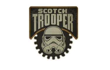 Scotch Trooper Logo taken from Complaint filed against Virginia Distillery Co.