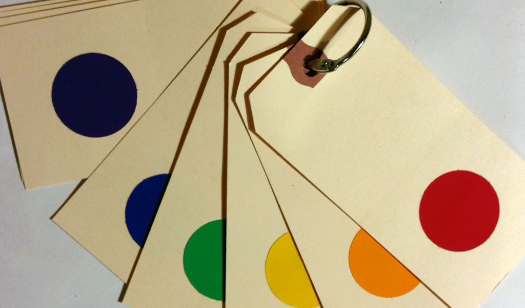 Color Cards for Children: Prototype