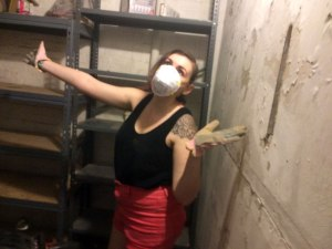 Cleaning the dreaded storage room...