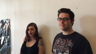 Shannon B and Richard P, our inaugural interns