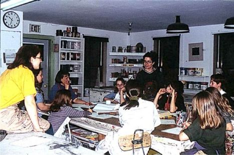 Teaching at WSW, 2000