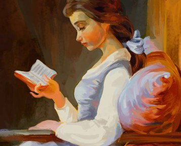 Princess Belle Reading.