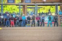 The opening lineup of riders at the Tour Pro Division PBR in Deadwood SD.  Photo by Josh Homer.  Photo credit must be given on all uses.