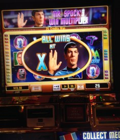 Star Trek slot machine at the Venetian