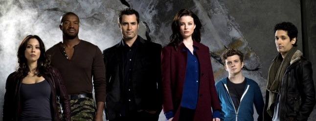 All of the actors and characters on Continuum