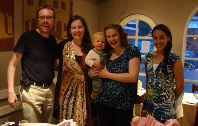 Ernest, Libby, Kyle, Kimberley, and Sarah - JULY 2011