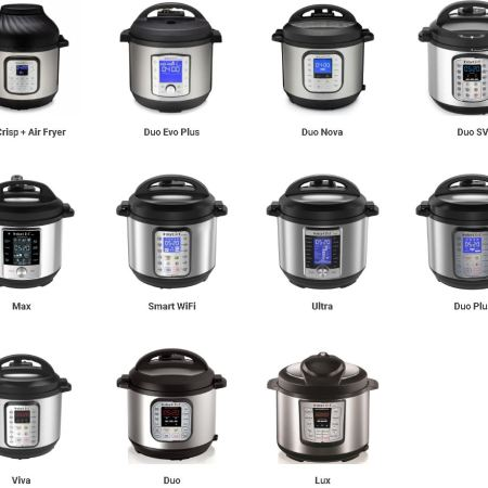 Model and Styles of Instant Pots