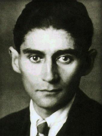Fotografia in BN di Kafka
