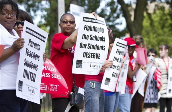Teachers on strike (libcom.org)