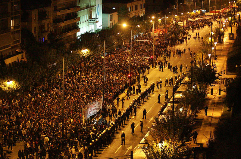Athens under siege