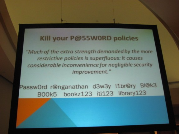 Kill your password policies!