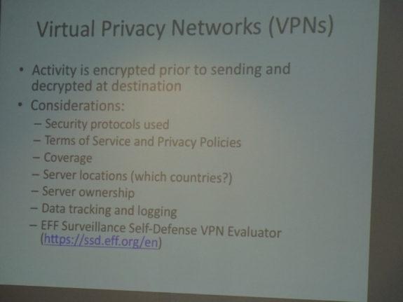 VPN Considerations