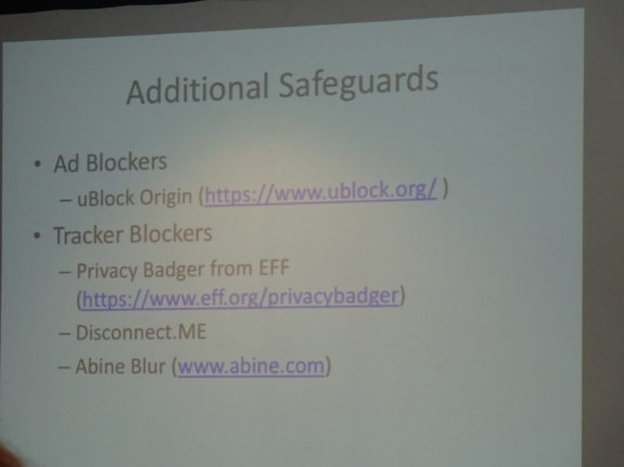 Additional Safeguards