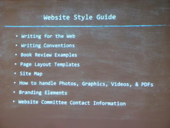 Website Style Guides