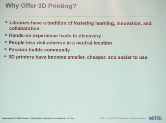 Why Offer 3D Printing?