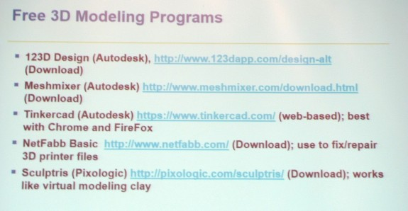 Free 3D Modeling Programs