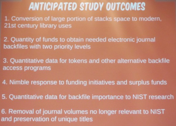 Anticipated Study Outcomes