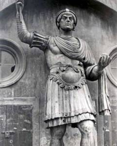 56. Diocletian-Statue