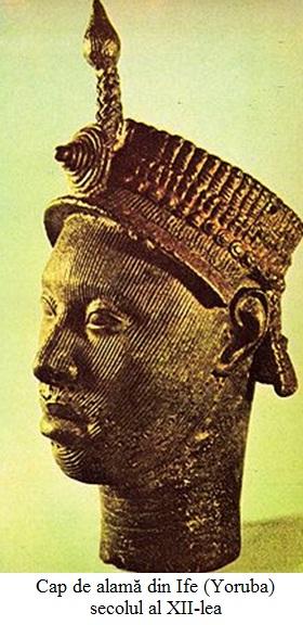 12.1.6.1 Cap de alamă din Ife (Yoruba), secolul al XII-lea