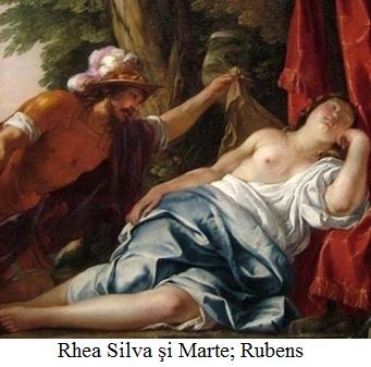 12.1. Rhea Silvia şi Marte