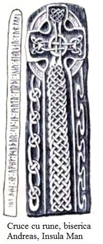 12.3.6.01 Cruce cu rune de la biserica Andreas, Insula Man