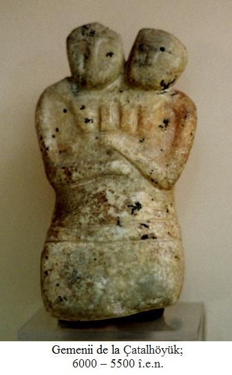 14.1.2.01 Gemenii de la Çatalhöyük; 6000 – 5500 î.e.n.