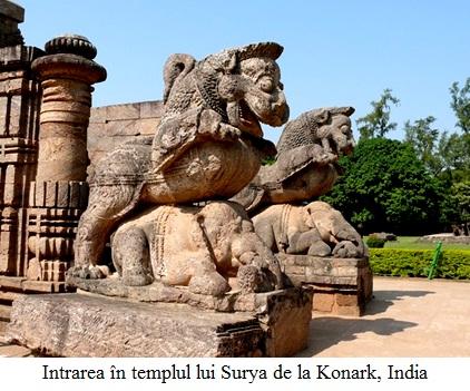 14.1.7.01 Intrarea în templul lui Surya de la Konark, India