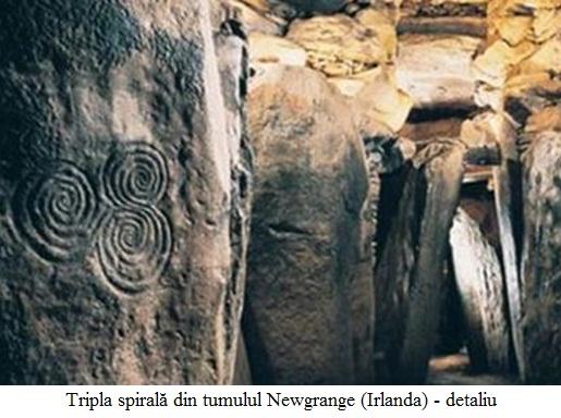 2.4.10.1 Tripla spirală din tumulul Newgrange (Irlanda) - detaliu