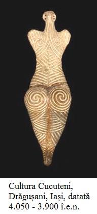 2.4.6.1 Cultura Cucuteni, Drăguşani, lângă Iaşi, datată 4.050 - 3.900 î.e.n.