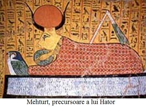 20.1 Mehturt, precursoare a lui Hator, vaca celestă egipteană