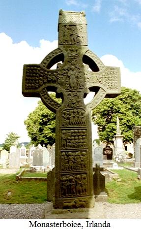3.1.11.1 Crucea celtică - Monasterboice, Irlanda