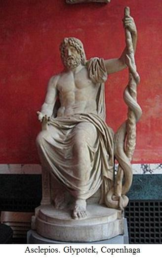 8.2.6.1 Asclepios. Statuie aflată la Glypotek, Copenhaga