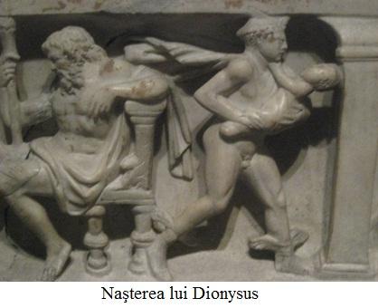 9.1 Naşterea lui Dionysus