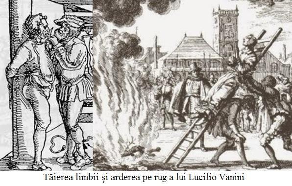 A.6.6.01 Tăierea limbii și arderea pe rug a lui Lucilio Vanini