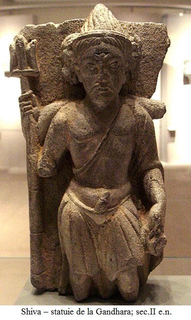 16.2.x.01 Shiva – statuie de la Gandhara; sec.II e.n.