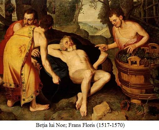 17.3.x.01 Beția lui Noe; Frans Floris (1517-1570)
