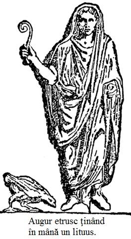 19.4.x.01 Augur etrusc ţinând în mână un lituus.