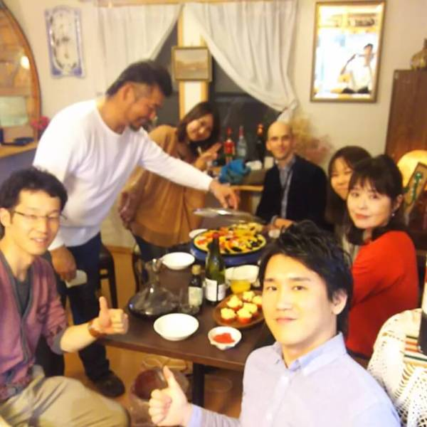 English party@名古屋