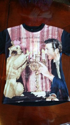 Liberace and Dog Tshirt