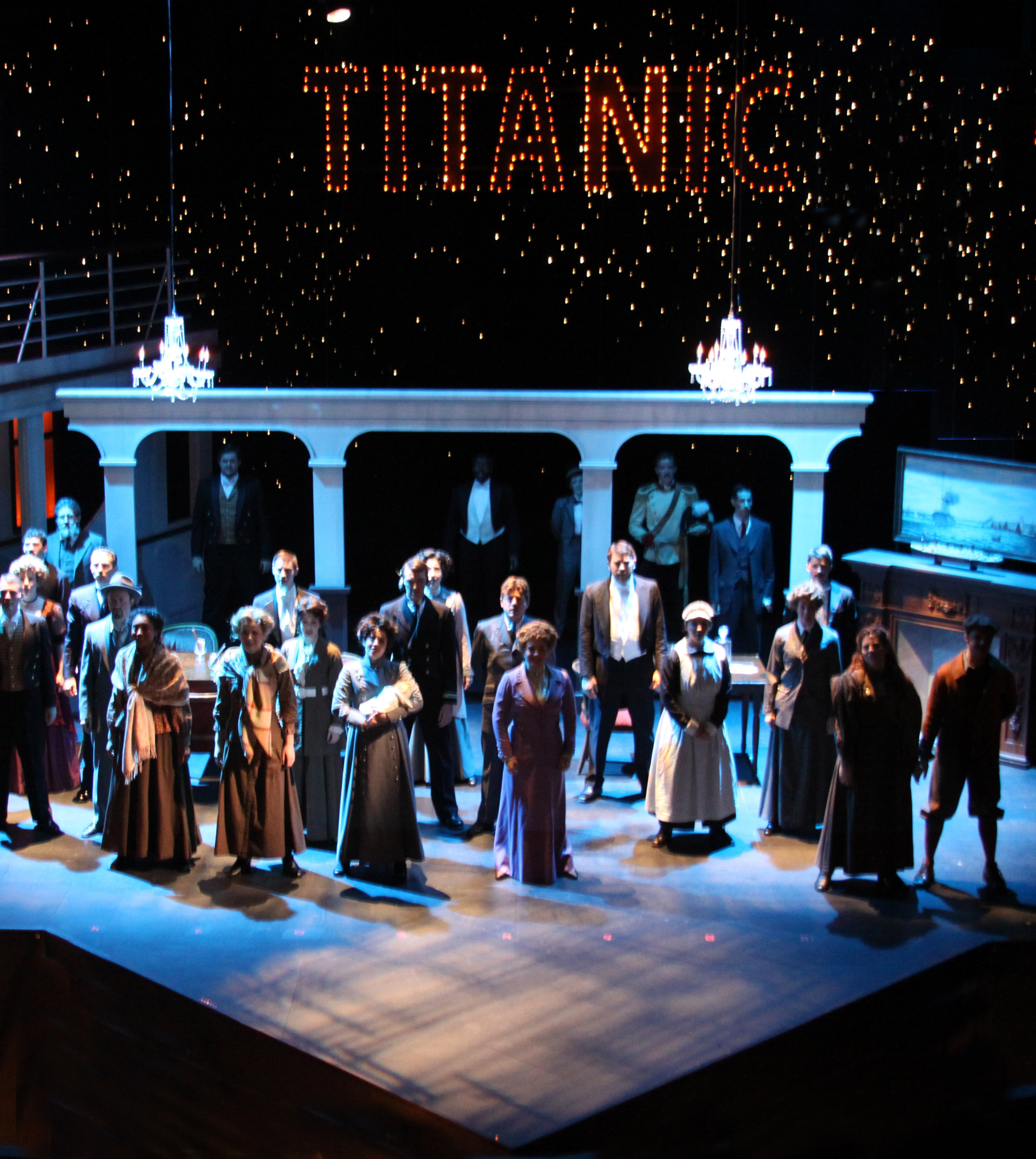 Titanic The Musical  Department of Theatre Dance and Motion Pictures  College of Liberal