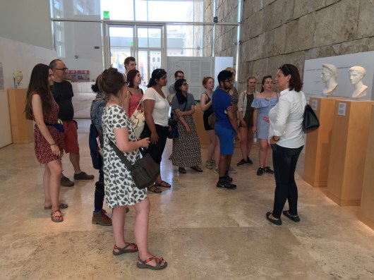 Contextualising history with politics, architecture, and museology (Ara Pacis, 5/7/2017)
