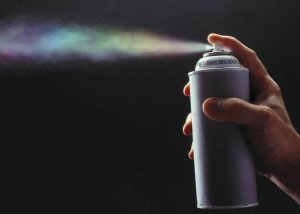 homosexual chemtrail in a can