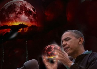 In Trump's Darkest Moment, Obama Arises the Super Blood Wolf Moon