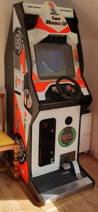 Super Monaco GP Cabinet