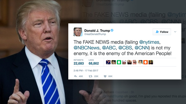 Image result for american press against trump