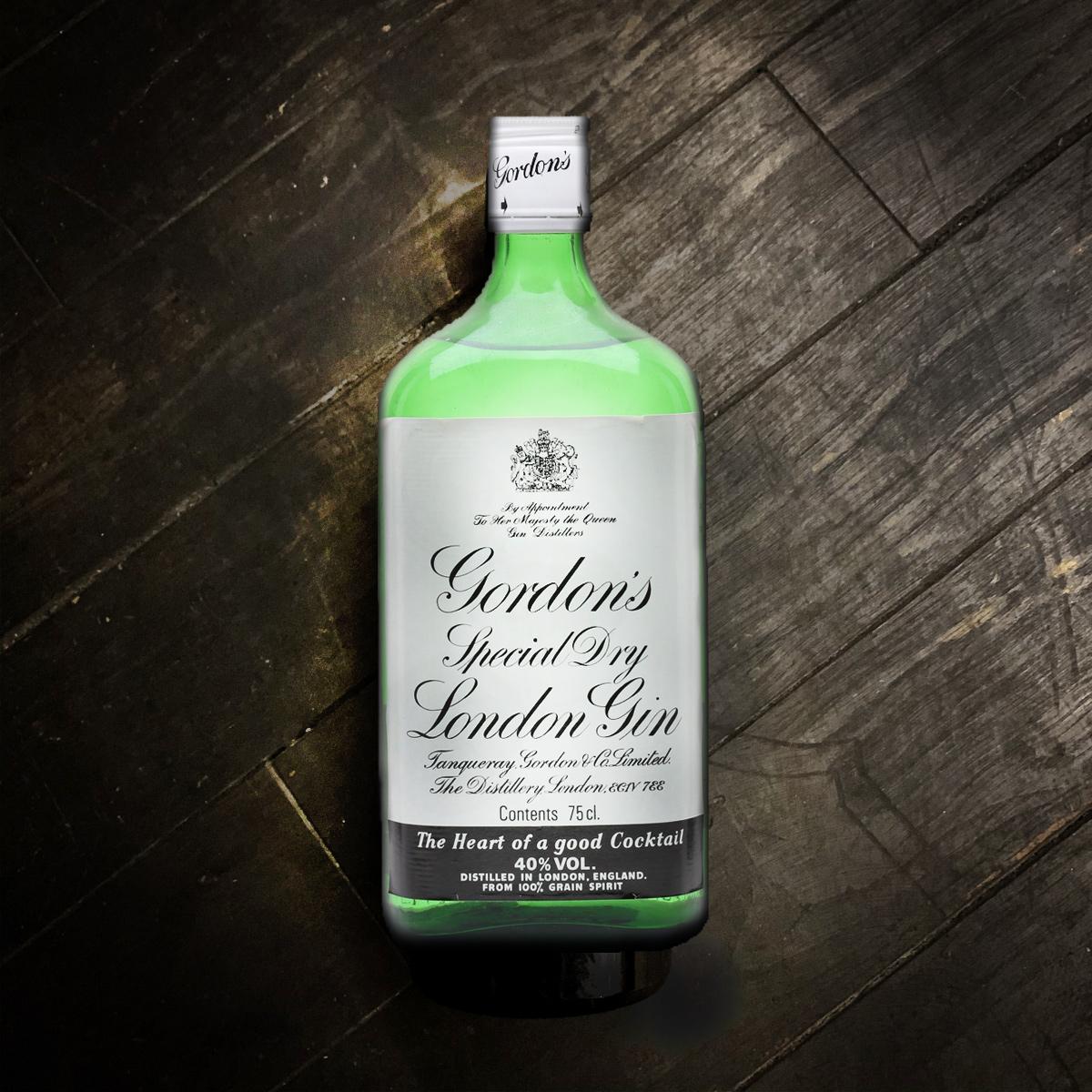 Vintage Gordon S Gin 1980 S Liberated Liquid