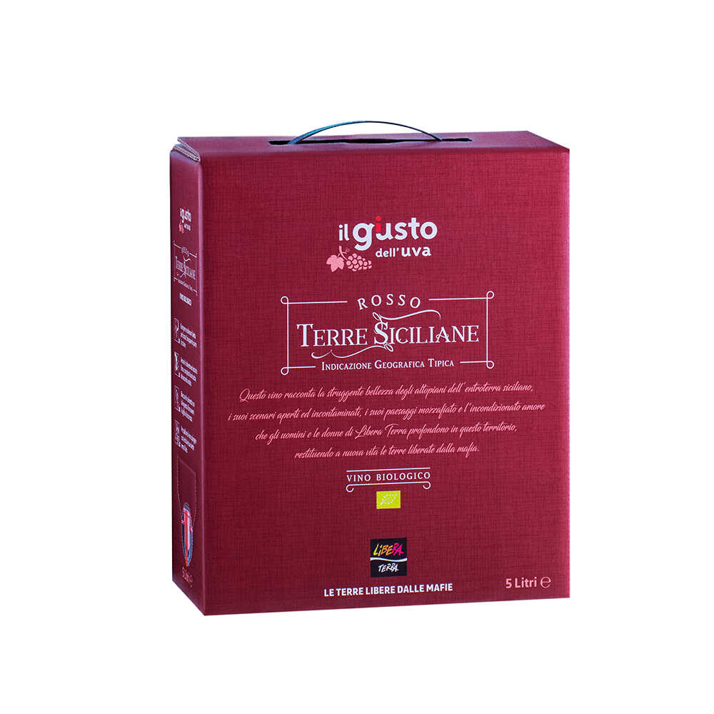 Rosso – Terre Siciliane IGT 2019 5l