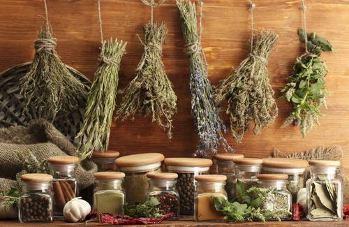 culinary & medicinal herbs rich in anti-oxidants