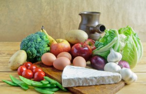 fresh produce are healthier than manufactured food items